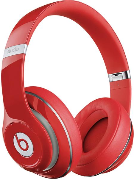Beats by Dr. Dre Studio Wireless - červená