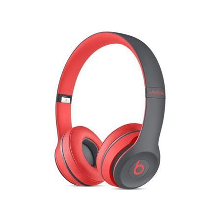 Beats By Dr. Dre Solo 2 Active - náhlavní sluchátka bezdrátová, červená; mkq22zm/a