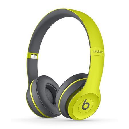 Beats By Dr. Dre Solo 2 Active - náhlavní sluchátka bezdrátová, žlutá; mkq12zm/a