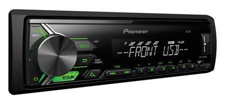 PIONEER MVH-190UBG - autorádio, MP3, USB/IPOD; MVH-190UBG