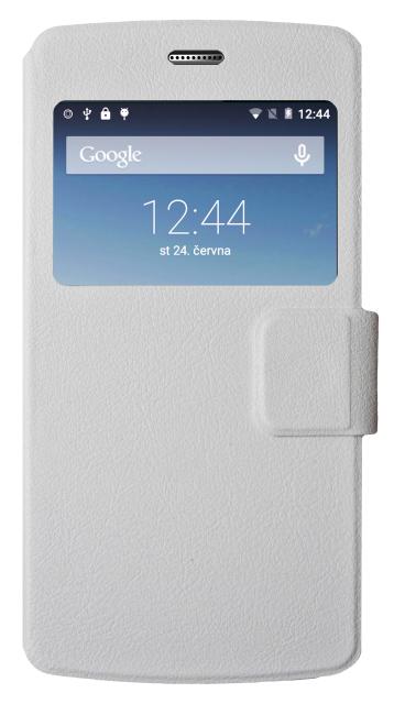 Aligator Pouzdro BOOK S5080 Duo LTE white