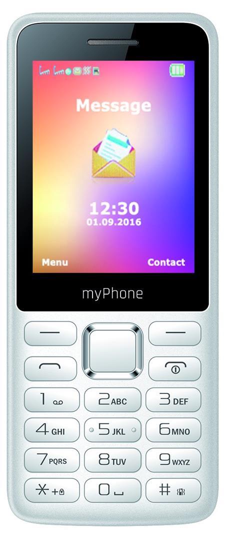 myPhone 6310 BÍLÝ; TELMY6310WH