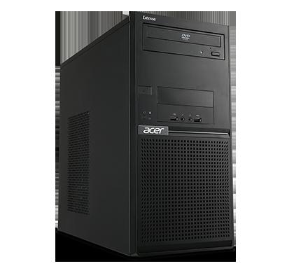 Acer EM2710 - počítač, MT, Intel Pentium G4400, 4GB RAM, 1TB HDD, DVD, W7pro+W10pro