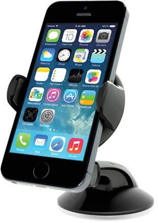 iOttie Easy Flex 3 - Univerzační držák do auta s aretační přísavkou na sklo, černá; HOLUNIVARWIN-IO
