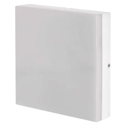 LED přisazené svítidlo, čtverec 15W teplá bílá IP44