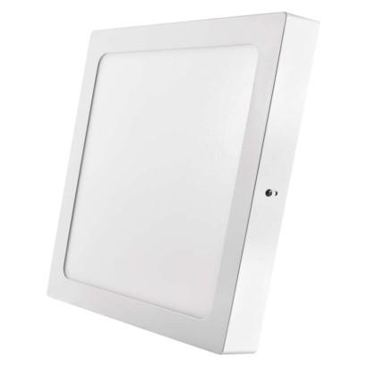 LED přisazené svítidlo, čtverec 24W studená bílá