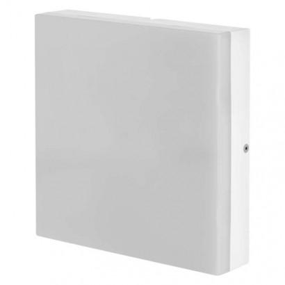 LED přisazené svítidlo, čtverec 24W studená bílá IP44