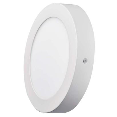 LED přisazené svítidlo, kruh 12W studená bílá