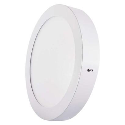 LED přisazené svítidlo, kruh 18W studená bílá