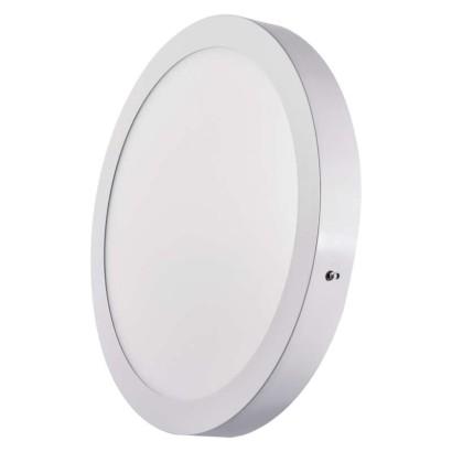 LED přisazené svítidlo, kruh 24W studená bílá