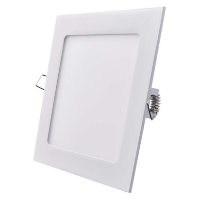 LED vestavné svítidlo, čtverec 12W teplá bílá