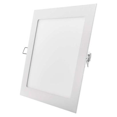 LED vestavné svítidlo, čtverec 18W neutrální bílá