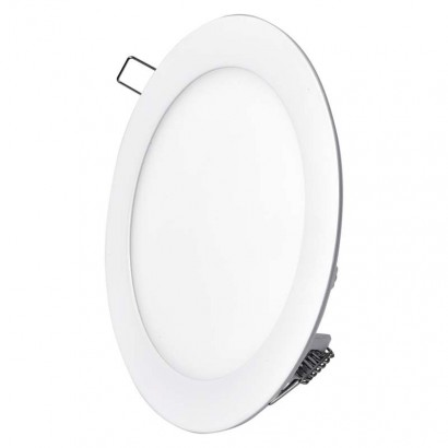 LED vestavné svítidlo, kruh 12W neutrální bílá