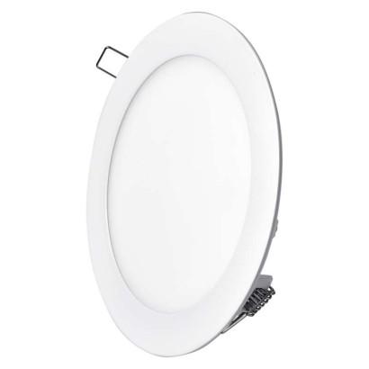 LED vestavné svítidlo, kruh 12W teplá bílá; 1540111210