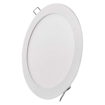 LED vestavné svítidlo, kruh 18W neutrální bílá