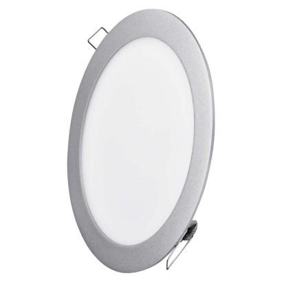 EMOS LED vestavné svítidlo, kruh stříbrná 18 W neutrální bílá *ZD1242; 1540121870