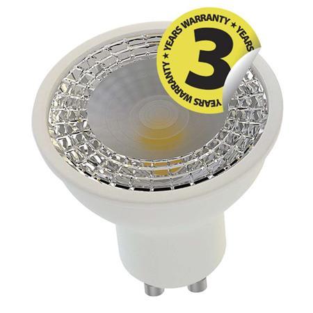 LED žárovka Premium MR16 60° 7,5W GU10 teplá bílá, stmív