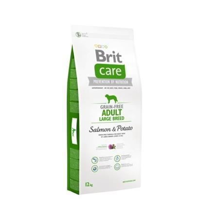 Brit Care Dog Grain Free Adult Large Breed Salmon & Potato 12 kg; 76658