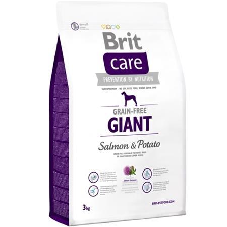 Brit Care Dog Grain-free Giant Salmon & Potato 3kg