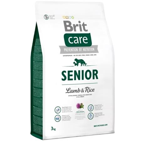 Brit Care Dog Senior Lamb & Rice 3kg; 76647