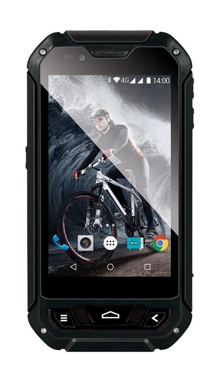 EVOLVEO StrongPhone Q5 LTE, vodotěsný odolný Android Quad Core smartphone; SGP-Q5-B