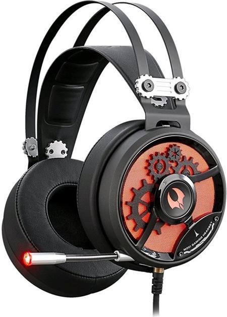 A4tech Herní sluchátka Bloody MOCI M660, černo-červená
