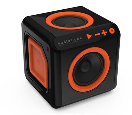 PowerCube Audiocube, black/orange