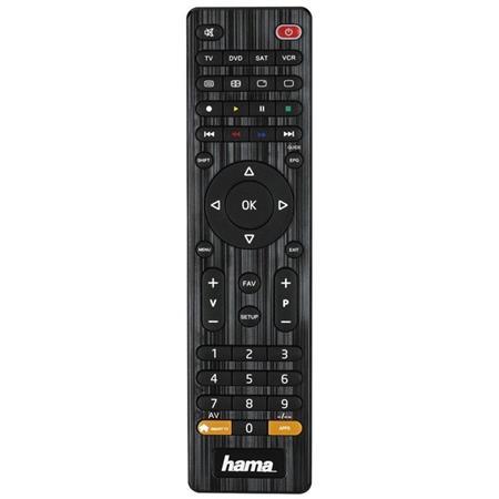 Hama univerzální dálkový ovladač 4v1, smart TV; 12306