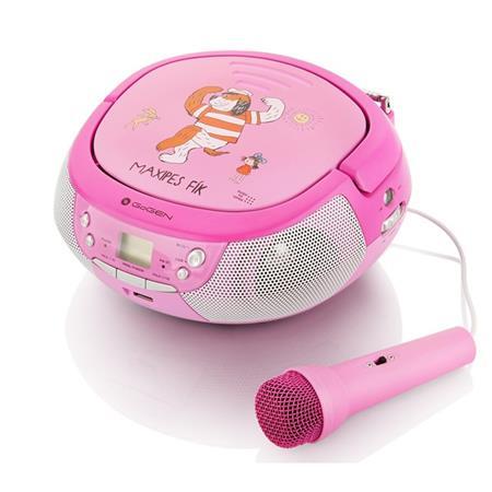 Gogen Radiopřijímač MAXIPREHRAVAC P s CD/ MP3/ USB, růžová/ purpurová; GOGMAXIPREHRAVACP - Gogen Maxipes Fík GOGMAXIPREHRAVAC
