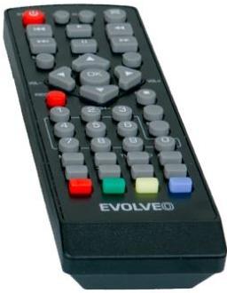Dálkový ovladač Evolve REM 3060; REM 3060-T2-HEVC