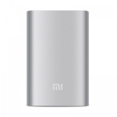 Xiaomi Powerbank 10000 mAh - externí bateriový zdroj, stříbrná; AMI124