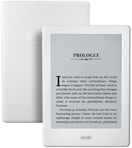 "Amazon Kindle 8 TOUCH, 6"" E-ink displej, WIFi, WHITE, sponzorovaná verze; EBKAM1148"