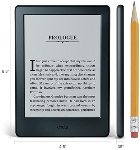 "Amazon Kindle 8 TOUCH, 6"" E-ink displej, WIFi, šedá, sponzorovaná verze; EBKAM1147"