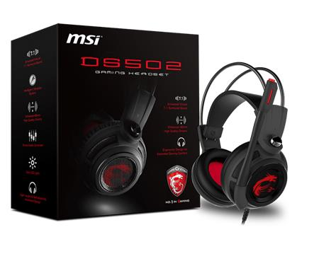 MSI Gaming Headset DS502; DS502 GAMING