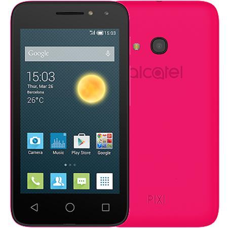 Alcatel OT-4034D PIXI 4 Neon Pink; 4034D-2CALE11