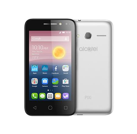Alcatel OT-5010D PIXI 4 Metal Silver; 5010D-2GALE11