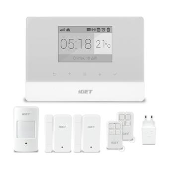 iGET SECURITY M3 - Domovní GSM Alarm, set; M3