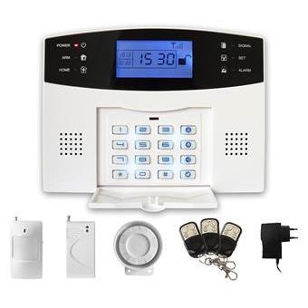 iGET SECURITY M2B - bezdrátový GSM alarm CZ, set; M2B