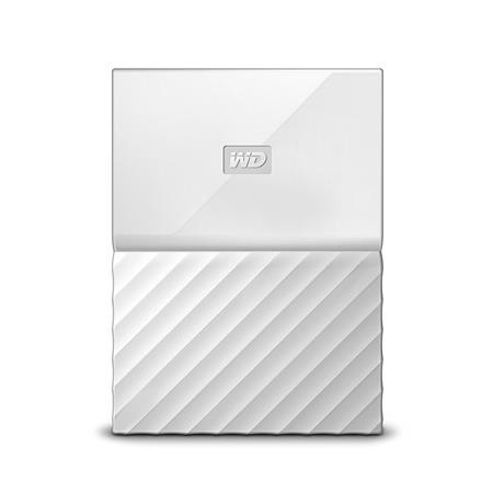 WD My Passport 1TB, bílý; WDBYNN0010BWT-WESN