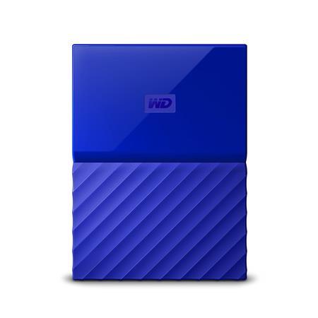 WD My Passport 2TB, modrý; WDBYFT0020BBL-WESN