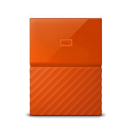 WD My Passport 2TB, oranžový; WDBYFT0020BOR-WESN