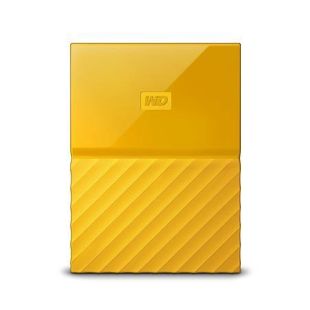 WD My Passport 2TB, žlutý; WDBYFT0020BYL-WESN