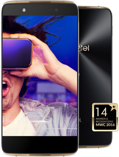ALCATEL IDOL 4 6055K + VR BOX Gold; 6055K-2BALE17-5
