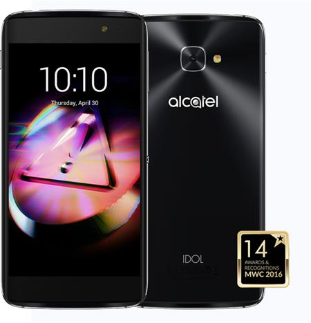 ALCATEL IDOL 4S 6070K + VR BOX Dark Grey; 6070K-2CALE17