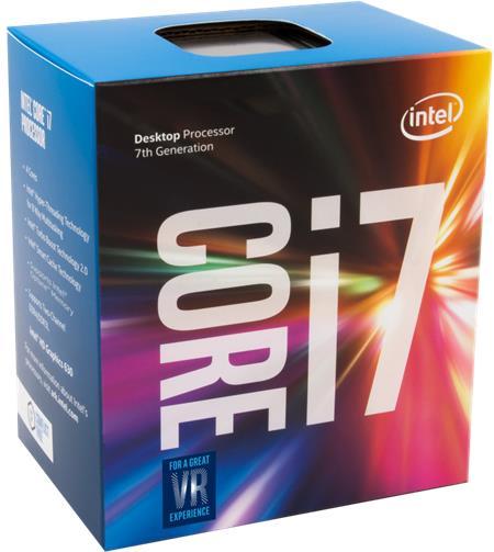Intel Core i7-7700K; BX80677I77700K
