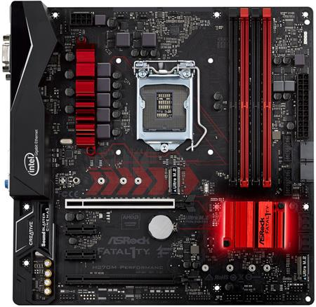 ASROCK MB H270M Performance; H270M Performance