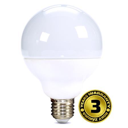 Solight LED žárovka, globe, 18W, E27, 3000K, 270°, 1520lm; WZ513
