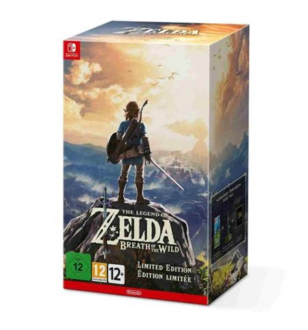 Nintendo SWITCH The Legend of Zelda: BOTW Limited edition; NSS698