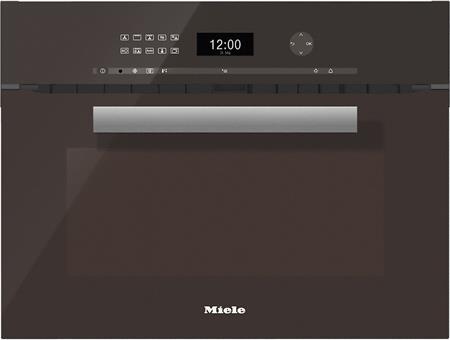 MIELE H 6401 BM hnědá- kompaktní pečicí trouba vestavná s mikrovlnou; 22640104D