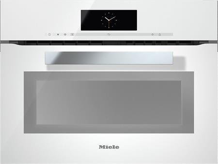 MIELE H 6800 BM bílá- kompaktní pečicí trouba vestavná s mikrovlnou; 22680014D